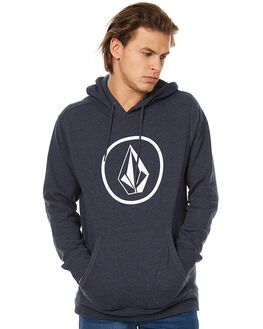 NAVY HEATHER MENS CLOTHING VOLCOM JUMPERS - A41316V3NVH