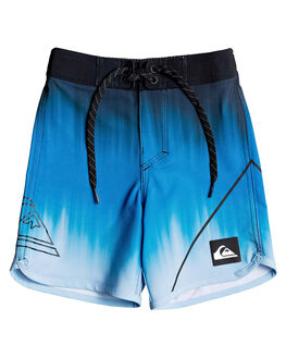 PUNCH BLUE KIDS BOYS QUIKSILVER BOARDSHORTS - EQKBS03251-BRN6