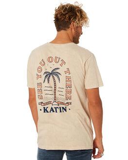 TAN MENS CLOTHING KATIN TEES - TSARC02TAN