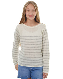 METRO RIDE THIS VIBE KIDS GIRLS ROXY JUMPERS - ERGSW03035TEN4