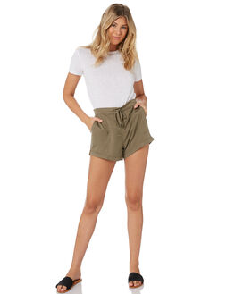 FADED OLIVE WOMENS CLOTHING RUSTY SHORTS - WKL0667FDO