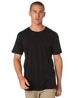 BLACK MENS CLOTHING AS COLOUR TEES - 5001BLK