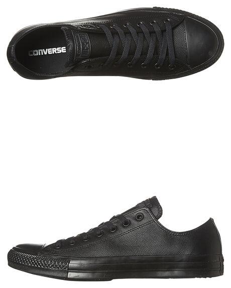 BLACK MONOCHROME MENS FOOTWEAR CONVERSE SNEAKERS - 135253BLKMO