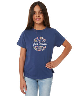 NAVY KIDS GIRLS SWELL TOPS - S6204001NAVY