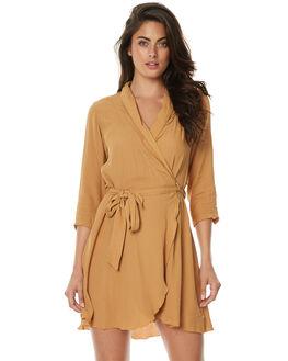 CARAMEL WOMENS CLOTHING RUE STIIC DRESSES - JA1725FCRML