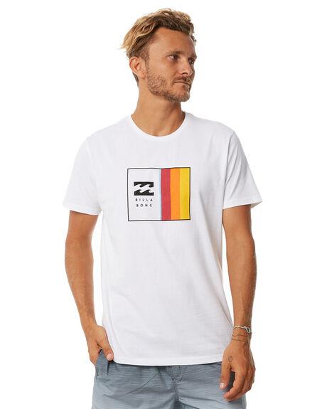 WHITE MENS CLOTHING BILLABONG TEES - 9572048WHT