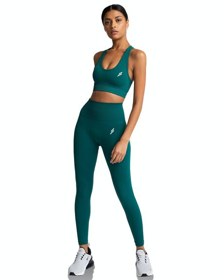 FOREST GREEN WOMENS CLOTHING DOYOUEVEN ACTIVEWEAR - C.02.XS