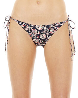 INDIGO MULTI WOMENS SWIMWEAR THE UPSIDE BIKINI BOTTOMS - UBW319131INDML