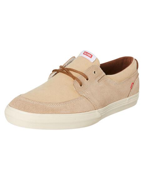 ALMOND MENS FOOTWEAR GLOBE SNEAKERS - GBATTIC16234