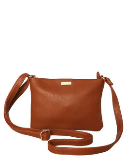 TAN WOMENS ACCESSORIES RUSTY BAGS + BACKPACKS - BFL0998TAN