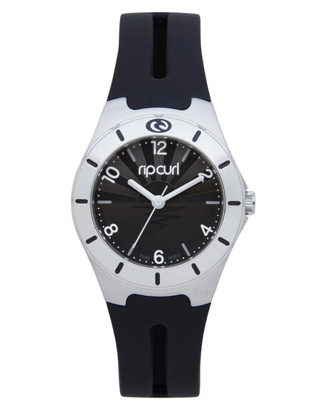 BLACK WHITE KIDS GIRLS RIP CURL WATCHES - A2150G0431
