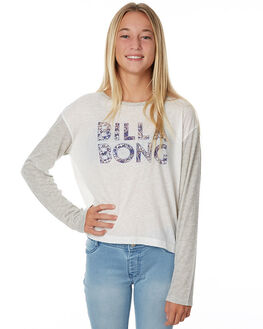 COOL WHIP KIDS GIRLS BILLABONG TEES - 5575074CWH