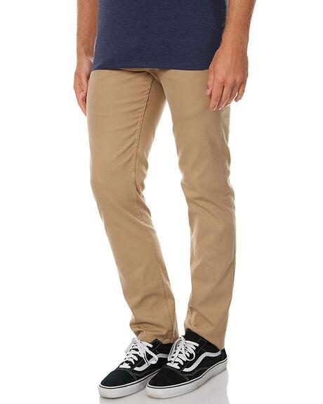 KHAKI MENS CLOTHING HURLEY PANTS - MPT000068026B