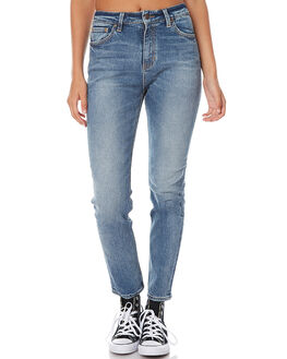 CLASH BLUE WOMENS CLOTHING LEE JEANS - L-656115-BL9CLA