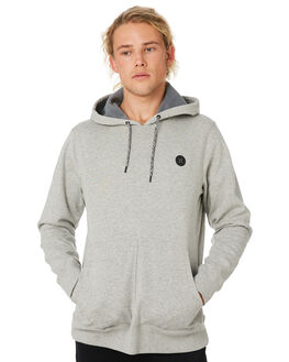GREY HEATHER MENS CLOTHING HURLEY JUMPERS - CD6068050