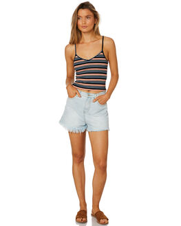 PEACH WOMENS CLOTHING ALL ABOUT EVE SINGLETS - 6405140PEAC