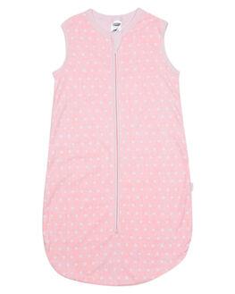DENIM SPOT PINK KIDS BABY BONDS CLOTHING - BYA3A34A
