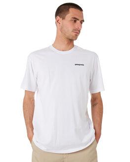 WHITE MENS CLOTHING PATAGONIA TEES - 38479WHI