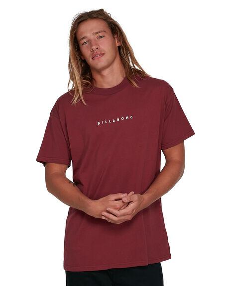 DEEP RED MENS CLOTHING BILLABONG TEES - BB-9503020-D56