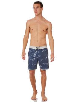 BLUE MENS CLOTHING CAPTAIN FIN CO. BOARDSHORTS - CR182024BLU