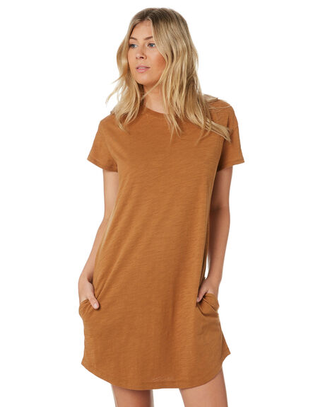 GOLDEN EARTH WOMENS CLOTHING SWELL DRESSES - S8202457GLD