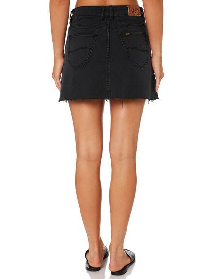 LUNAR BLACK WOMENS CLOTHING LEE SKIRTS - L-655548-T79LNRB