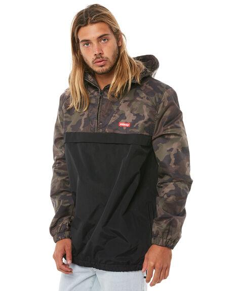 CAMO MENS CLOTHING STUSSY JACKETS - ST081503CAMO