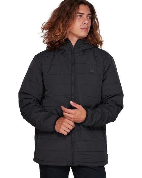 BLACK MENS CLOTHING BILLABONG JACKETS - BB-9507909-BLK