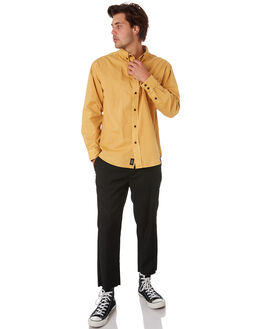 BLACK MENS CLOTHING THRILLS PANTS - TS9-404BBLK