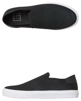 BLACK GREEN MENS FOOTWEAR ETNIES SLIP ONS - 4101000489BLKG