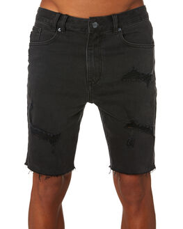 DUST BLACK MENS CLOTHING INSIGHT SHORTS - 5000002706DSTBK