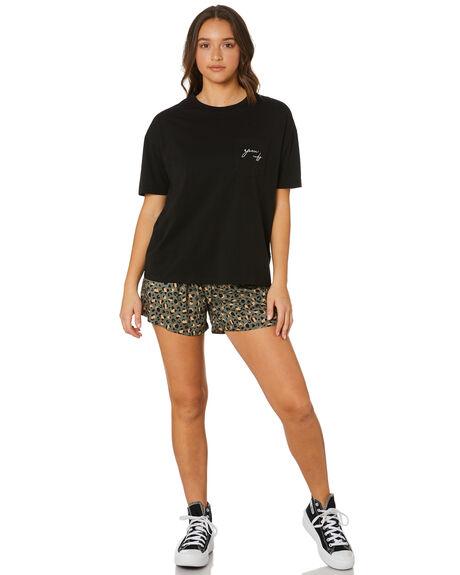 LEOPARD WOMENS CLOTHING RPM SHORTS - 21PW19ALEO