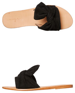 BLACK WOMENS FOOTWEAR URGE SLIDES - URG17030BLK
