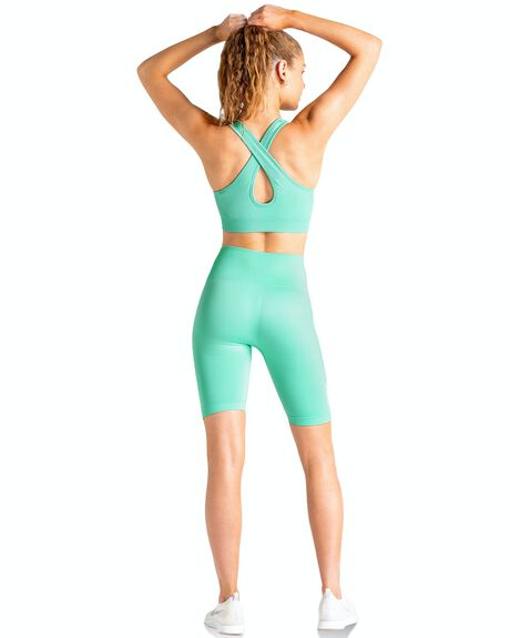 MINT GREEN WOMENS CLOTHING DOYOUEVEN ACTIVEWEAR - I.12.XS
