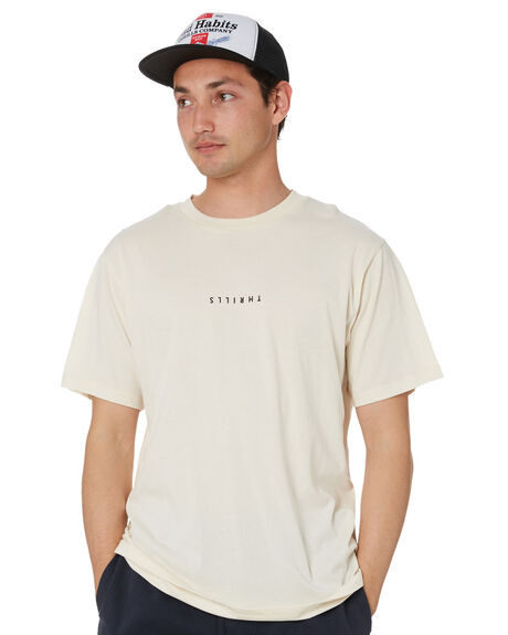 UNBLEACHED MENS CLOTHING THRILLS TEES - TS20-100AUNB
