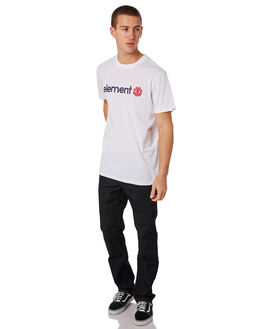 OPTIC WHITE MENS CLOTHING ELEMENT TEES - 183001OWHT