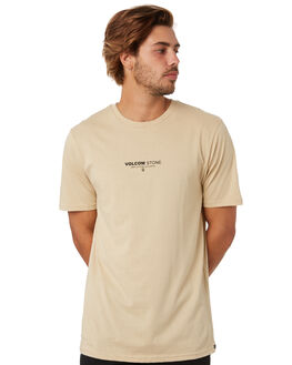 ALMOND MENS CLOTHING VOLCOM TEES - A5012071ALD