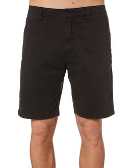 WASHED BLACK MENS CLOTHING RIP CURL SHORTS - CWADE78264