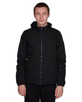 FLINT BLACK MENS CLOTHING ELEMENT JACKETS - EL-176456-IFL