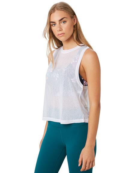 WHITE WOMENS CLOTHING LORNA JANE ACTIVEWEAR - 101963WHT