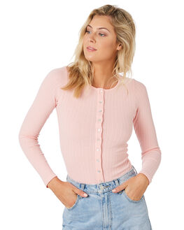 PINK WOMENS CLOTHING THE HIDDEN WAY TEES - H8194101PINK