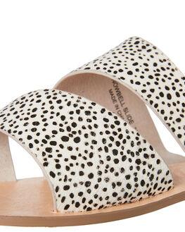 WHITE BLACK SPOT WOMENS FOOTWEAR WALNUT FASHION SANDALS - SNOWBELLWBSPT