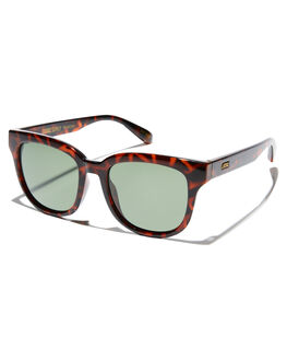 POLISHED TORT WOMENS ACCESSORIES LOCAL SUPPLY SUNGLASSES - RIVERTLP2