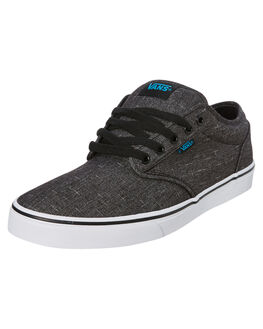 BLACK MENS FOOTWEAR VANS SNEAKERS - VN00XB0FN8BLK