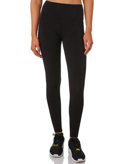BLACK WOMENS CLOTHING LORNA JANE ACTIVEWEAR - LB0267BLK