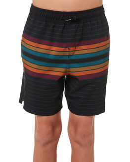 BLACK KIDS BOYS BILLABONG BOARDSHORTS - 8581416BLK