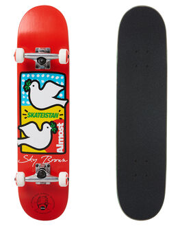 RED BOARDSPORTS SKATE ALMOST COMPLETES - 10523219RED