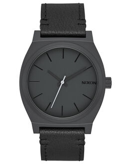 ALL BLACK SLATE UNISEX ADULTS NIXON WATCHES - A0452738