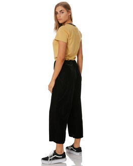BLACK WOMENS CLOTHING VOLCOM PANTS - B1241903BLK