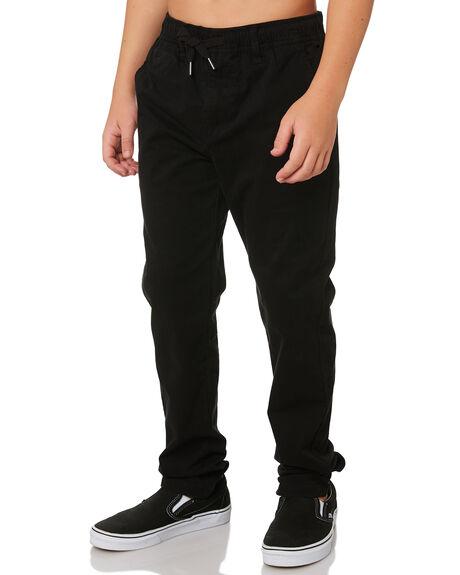 BLACK KIDS BOYS SWELL PANTS - S3193194BLACK